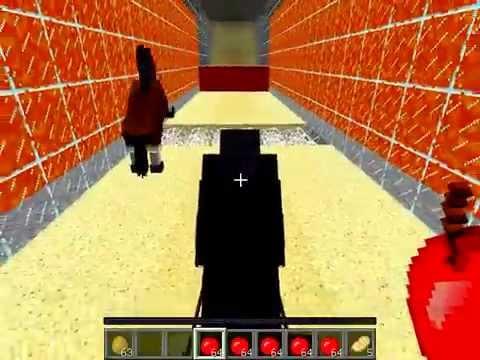 Minecraft прохождение карты #8 Скачки на Лошадях