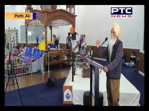 Famous Sikh Personalities Ajmer Singh Visits Perth to share Sikh History