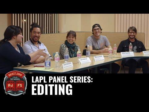 LAPL Panel Series: EDITING
