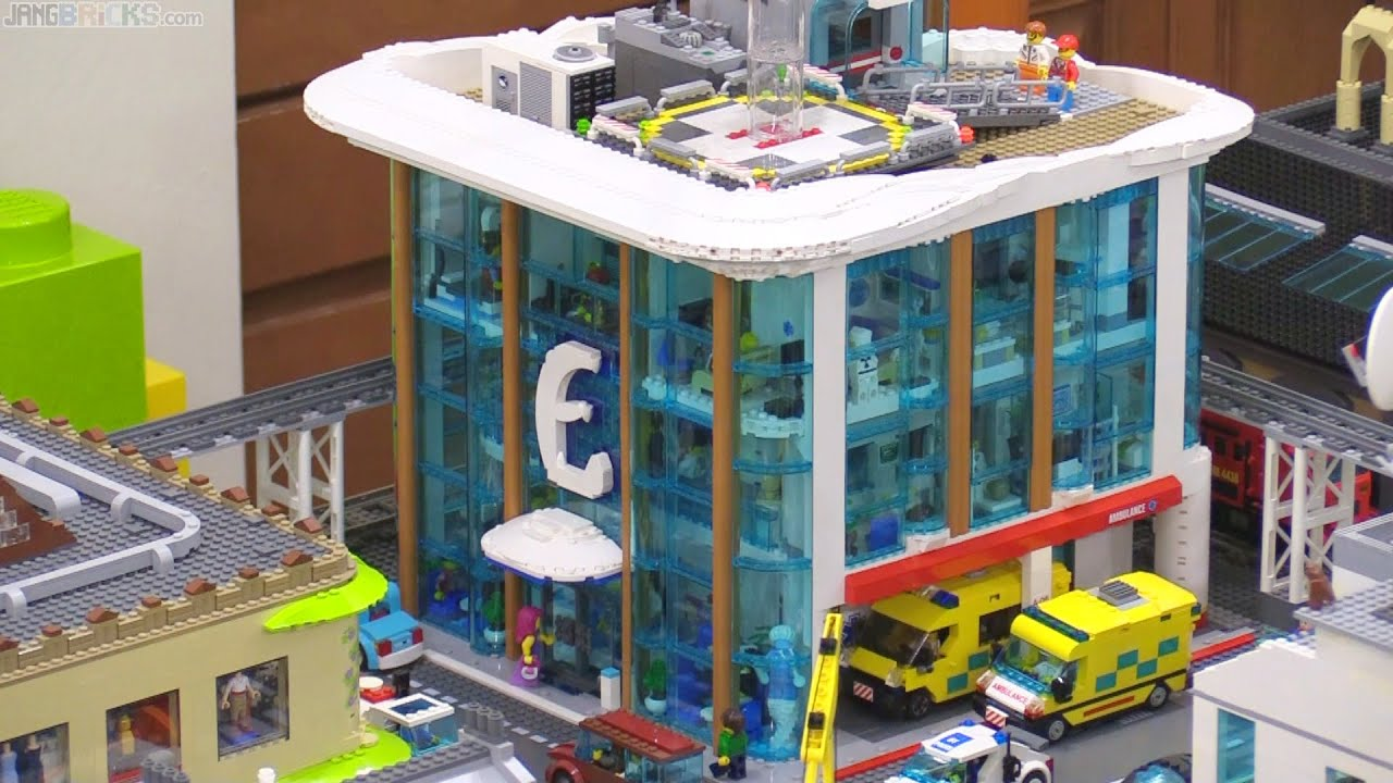 Organize Ideas Custom Lego Hospital Full Detailed Tour 🏥 🚑 Youtube