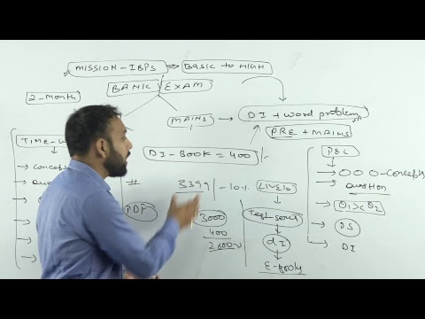 Mission Banker | High Level Data Interpretation + Word Problem | Advance Concept | Cal 9958500766