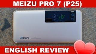 Meizu Pro 7 S Review - Best Helio P25 Phone? (English)