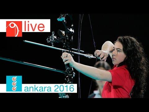 Live: Compound Junior Finals |Ankara 2016