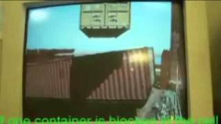 Problem with a container in a container vessel