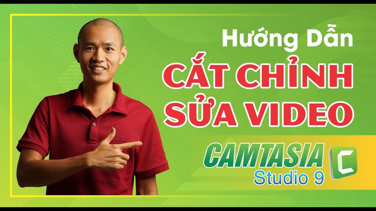 Cách edit video trên máy tính phần mềm chỉnh sửa video đơn giản camtasia 9 | Eroca Thanh