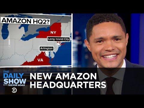 Amazon's Second Headquarters,