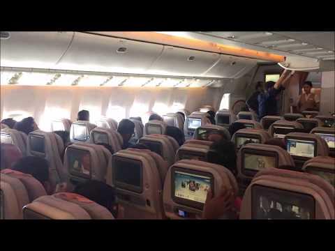 Emirates Flight Report - Dubai to Kolkata (July 2017)