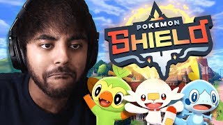 ITS FINALLY NEW POKEMON TIME! - Pokemon Shield LIVE Lets Play 01