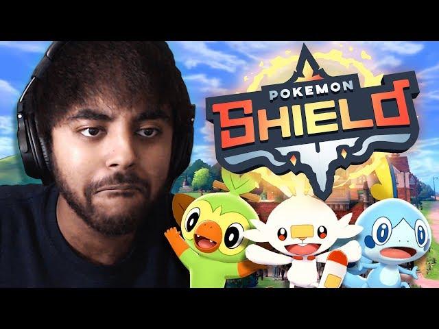 ITS FINALLY NEW POKEMON TIME! - Pokemon Shield LIVE Lets Play 01