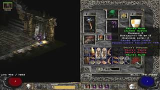 What is set item Leather Gloves - Diablo 2