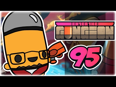 Let's Play: Enter the Gungeon | Part 95 | Giant Tiger Army | Robot PC Gameplay