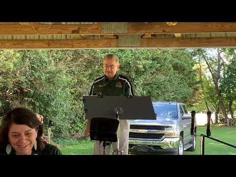 Annual church picnic & Fairwinds Christian School teacher dedication.