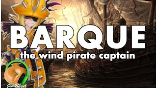 SUMMONERS WAR : Barque the Wind Pirate Captain (Gameplay Spotlight)