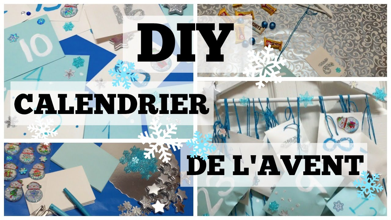 diy calendrier de l 39 avent youtube