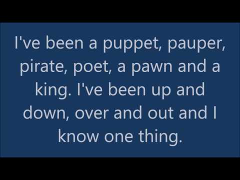 Bradley Walsh Thats life lyrics