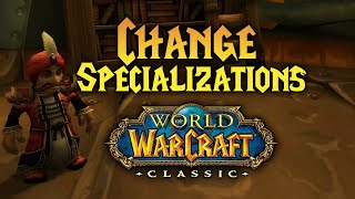 How to Change Profession Specializations in WoW Classic (Soothsaying for Dummies)