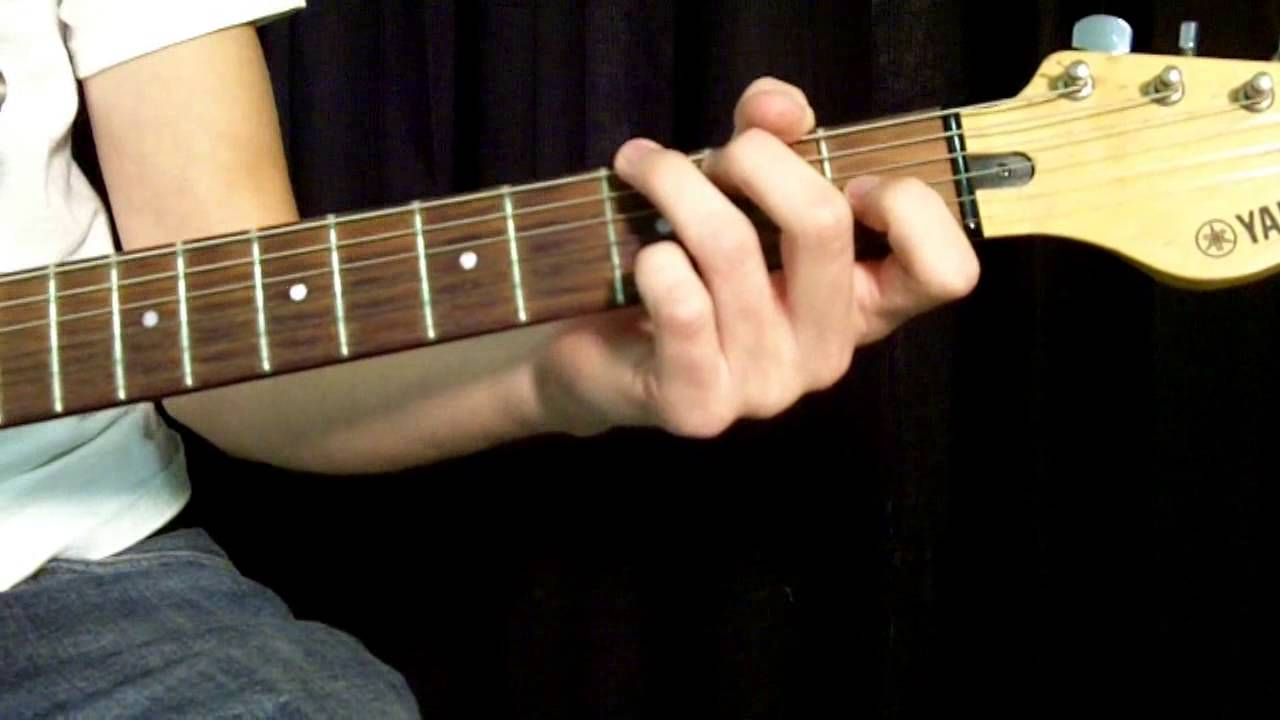 How To Play Undone The Sweater Song By Weezer Basic Chords