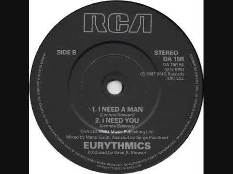 The Eurythmics * I Need A Man   1987   HQ