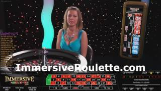 £300 Vs Live Immersive Roulette Feb 2016