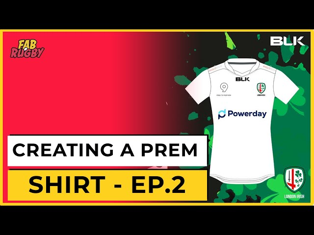 Creating a Premiership Rugby Shirt - Part 2: Deciding the WINNING design