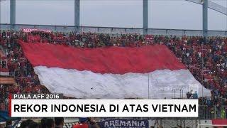 Rekor Indonesia vs Vietnam, PSSI Unggul - Jelang Piala AFF 2016