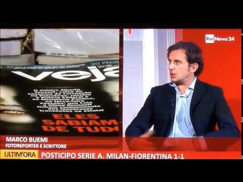 Marco Buemi a RaiNews24 - Brasile