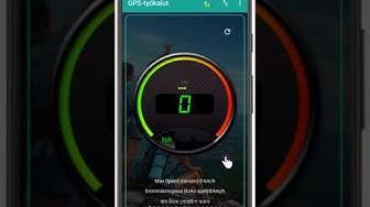 GPS Tools : Nopeusmittari ( SpeeoMeter )