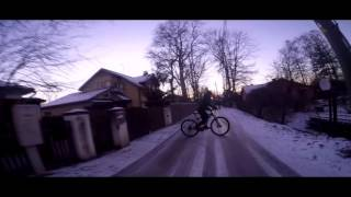Drifting with bicycles | Winter hype 2016 [Gopro HERO4 edit]