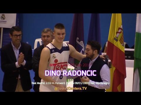Highlights DINO RADONCIC ('99). Real Madrid 2,02 m. MVP EB-AdidasNGT Coín 2017 (BasketCantera.TV)