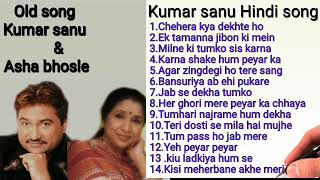 Kumar sanu & Asha bhosle  Hindi song,,Bollywood song