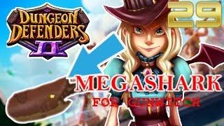 megashark   new weapon for gunwitch   dungeon defenders 2 part 29