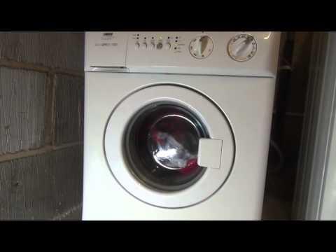 Zanussi Compact ZWC1300 Washing Machine : cotton standard Eco 60'c (Full Cycle 2 hours 12)