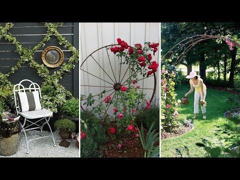 10 DIY Trellis Ideas for Any Garden