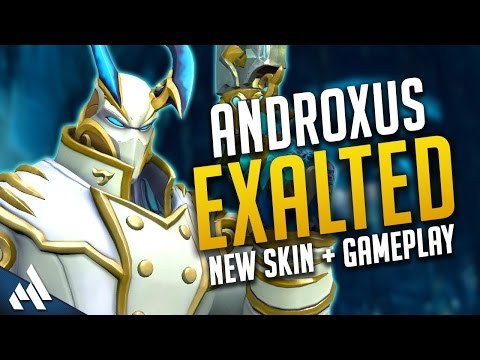 Androx New Skin Exalted! | Paladins PTS Gameplay