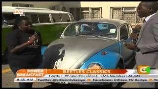 Power breakfast: Volkswagen Beetles Classics