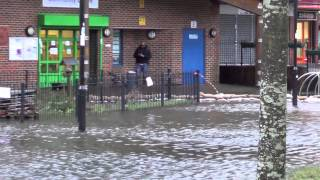 Basingstoke Buckskin Centre Flood 1