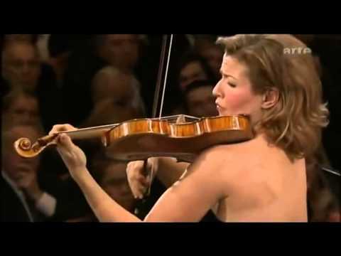 Cadenza- Beethoven violin concerto  - Anne Sophie Mutter