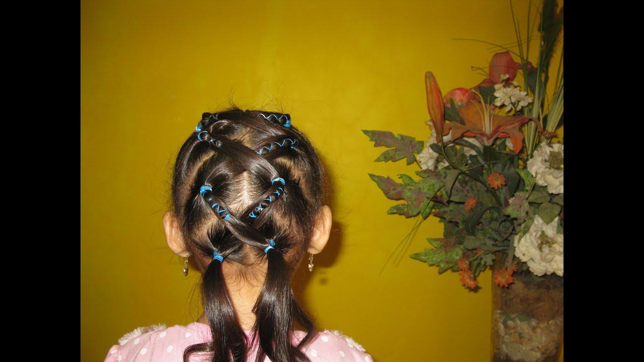 Cara Mengikat Rambut Anak Model Zig Zag Youtube