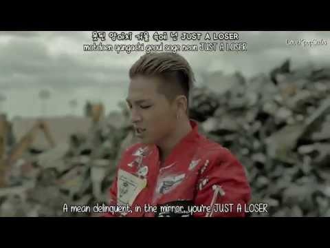 Big Bang - Loser MV  [English subs + Romanization + Hangul] HD