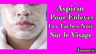 🎁🎄 [ Astuce Beauté ]~ Aspirine pour Éliminer les taches Noires sur Le Visage # 🍷🎉