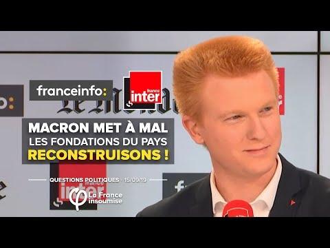 Macron met à mal les fondations du pays. Reconstruisons ! | Adrien Quatennens