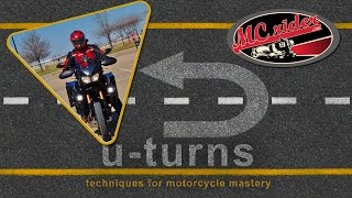 How to perform a motorcycle u-turn - Episode - 22 MCrider