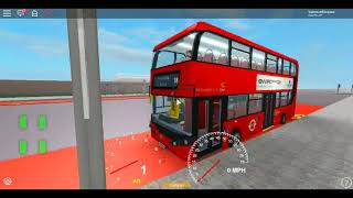 Roblox London Hackney & Limehouse bus Simulator First Day of the NEW E400HCity CSG CTP on Route 388