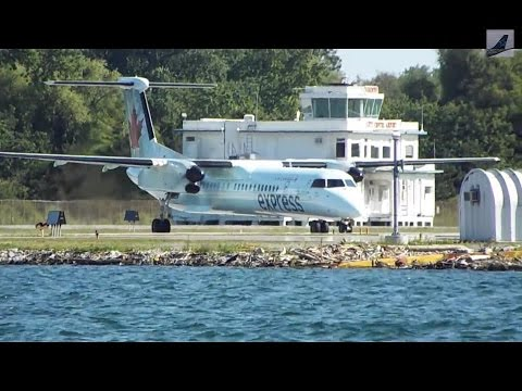 Summer Plane Spotting at Toronto City Center Airport (CYTZ/Y