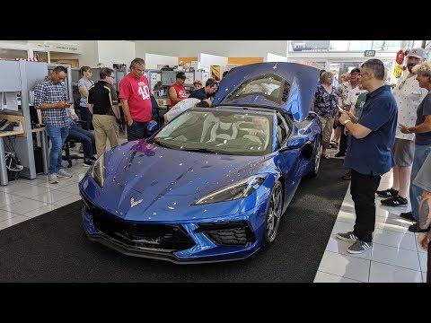 2020 C8 Corvette Pre-production Model at Rydell Chevrolet in Northridge, CA