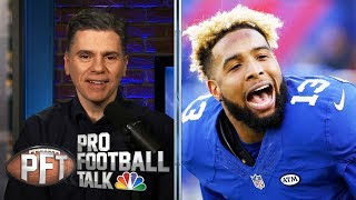How the Giants completely fumbled Odell Beckham Jr. situation | Pro Football Talk | NBC Sports