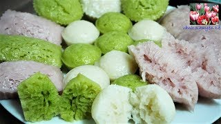 BÁNH BÒ HẤP RỄ TRE - Cách Pha Bột làm Bánh Bò hấp ủ Men thơm ngon mềm xốp by Vanh Khuyen