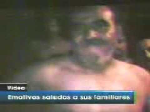 1era parte 33 mineros video de como viven a 700 metros profundidad en mina san jose copiapo chile