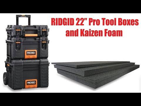 Ridgid 22 Professional Tool Storage System Amp 25 Tool