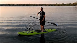 CostCo WaveStorm Stand Up Paddle Board 9 ft. 6 in. Expedition Review 1101644 $299.99